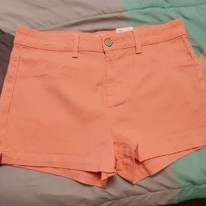 Light pink/peach shorts